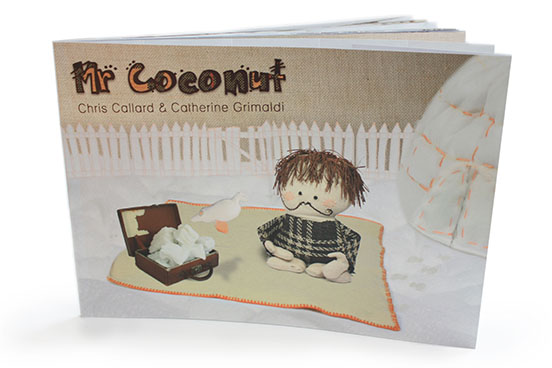 Mr Coconut book cover